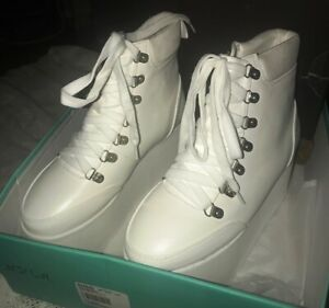 N.Y.L.A. Platform Boot White  Size: US 6  NWT RRP $139