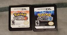 Pokemon: White Version 2 and Black Version 2 (Nintendo DS, 2012) FREE SHIPPING