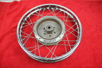 1969-75 SUZUKI T500 TITAN REAR BACK WHEEL RIM VERY NICE CHROME