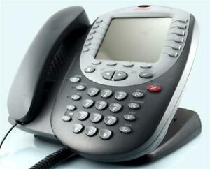 Avaya 5621 IP Phone in Grey With Stand and Cable