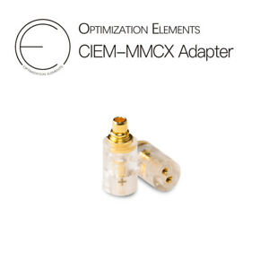 OEAudio Adapter for IEM Earphones Cable CIEM MMCX 3.5mm PU CNC 3U Gold Plated