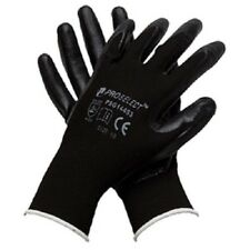 ProSelect BLACK NITRILE FOAM COATED GLOVES, SIZE SMALL, 1 Pair