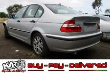 2002 BMW E46 3 Series 318i Sedan Front Driver Right Grey Leather Door Trim - KLR