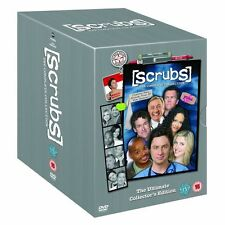 Scrubs Season 1-9 (The Ultimate Collector's Edition) Dvd New