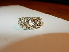 REDUCED TIFFANY & CO PALOMA PICASSO LOVING HEARTS STERLING RING SIZE 6