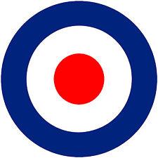 RAF British Roundel Ww2 Fighter Airplane Spitfire Typhoon Hawker Warplane Decal