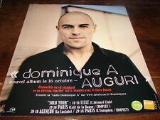 DOMINIQUE A - PUBLICITE AUGURI !!!!!!!!!!!