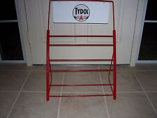 OIL CAN DISPLAY RACK NO DECAL MOST ANY COLOR AMERICAN MADE