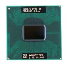 Intel Core 2 Duo T9400 2.53Ghz 6M 1066MHz Socket P Mobile PGA CPU AW80576GH0616M