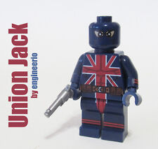 LEGO Custom - Union Jack - Marvel Superheroes Video game ghost rider wolverine