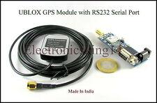 UBLOX GPS Receiver Module with GPS antenna for Arduino Raspberry Pi Model B,B+B2