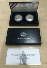2000 Leif Ericson US & Icelandic Proof SILVER Two Coin Commemorative Set