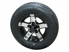 "07BR 175/80R13 LRC Radial Trailer Tire on 13"" 5 Lug Aluminum Trailer Wheel bbb"