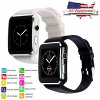Men Women Bluetooth Smart Watch Remote Camera for Samsung S20 S10 S9 S8 LG G7 G8