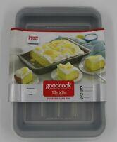 "Good Cook Premium Non-Stick 13' x 9"" Covered Cake Pan NEW"