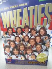 Olympic Womens Ice Hockey Team 1998 Wheaties Box Sealed Vintage