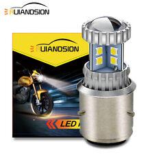 1X 10-30V BA21D 3030 20 LED Motorbike Scooter Headlight Bulb Front Globe White
