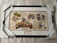 Disney Decades The 1930s Disney LE 2000 BRAND-NEW Framed Sericel RARE!!!!!