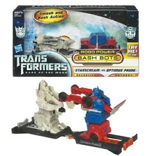 TRANSFORMERS Bash Bots-Starscream vs Optimus Prime 28955/28753 NUOVO & OVP!