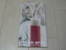 "Dir en grey  single CD ""Cage"" / Japan import visual kei"