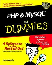 PHP and MySQL for Dummies (For Dummies (Computers)) by Valade, Janet Paperback