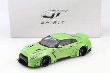 NISSAN GTR (r35) LB Performance Verde 1:18 GT-SPIRIT
