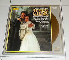 2 Laser Disc MOZART Le nozze di Figaro KARL BOHM Mirella Freni Hochzeit no dvd