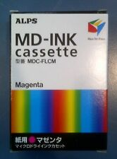 Alps MD Printer Ink Cartridge - Magenta MDC-FLCM - Replaces 106015-00, 1 each