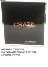 CRAZE FOR MEN BY ARMAF EDP 3.4 OZ / 100 ML FOR MEN (NIB) SEALED
