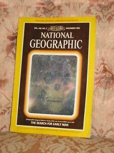 Skull (ancient) Hologram - National Geographic Magazine 1985 Vol 168 No5 - Rare