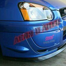 Subaru Impreza WRX STi 03-05 Winglets | Bumper Covers |  Plastic | Polyurethane