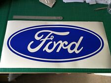 Ford Badge Sticker Garage RS Turbo Toolbox Focus Escort Fiesta Decal !! 600mm !!