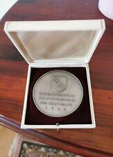 Medaille 1962 Städte Bronze versilbert Mainz - auf die 2000 Jahrfeier