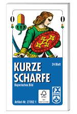 24 Blatt Ravensburger Spielkarten kurze Scharfe Bayerisches Bild Etui 27052