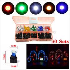 30×Mixed 12V T5 LED Dashboard Light For Car Socket Instrument Panel Cluster Plug