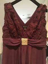 Enfocus Studio Sleeveless Evening Dress Size UK16