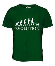 Basenji Evolution Of Men da Uomo T-Shirt Maglietta Cane Africano Cespuglio