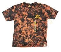 Carhartt Mens Size  M Pocket T Shirt Acid Wash Bleach Dyed Workwear 1 of 1