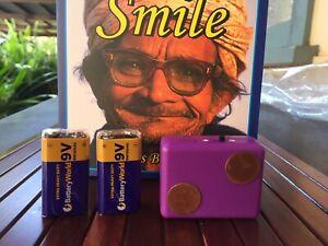 Basic Parasite & Virus Zapper 2 9V Batteries & Smile book