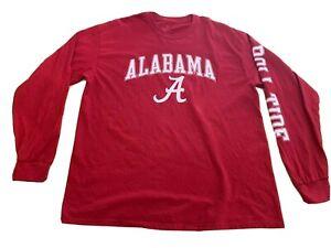 Fanatics Branded Alabama Crimson Tide XL Crimson Campus Long Sleeve Tee