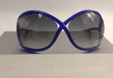 f38ed080d4ac TOM FORD SUNGLASSES WHITNEY TF9 Color 90B Neon Blue FT9