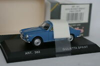 Detailcars 1/43 - Alfa Romeo Giulietta Sprint Bleue