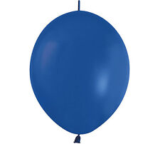 "20ct. CRYSTAL BLUE Link-o-Loon 12"" Latex Helium Linking Balloons ARCHES ARBORS"