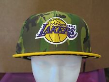 Lakers Camouflage Snapback Hat By '47 Brand Men's One Size Adjustable New W/ Tag