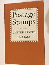 BOOK: POSTAGE STAMPS OF THE United States 1847-1950