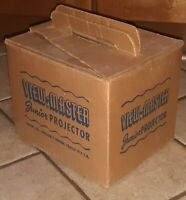 OLD Vintage View Master Junior Projector Origional Box 1950s ESTATE SALE FIND