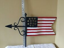 Good Directions Cottage Americana Flag - 836 P 00004000 ainted Aluminum - Figure Only