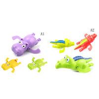 Nettes Schwimmen-Cartoon-Tier Pool Spielzeug Für Baby-Kind-Bad-Badewanne L YT