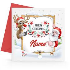 Personalised Christmas Card Son Daughter Nephew Niece Grandson Granddaughter