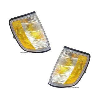 For Mercedes W124 E320 E420 E500 E300 Turn Signal Light Assembly Set OEM